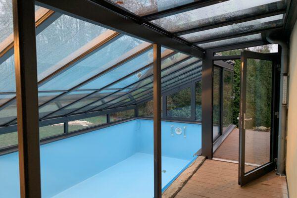 Individuelle D & F Poolüberdachung in Bad Salzuflen