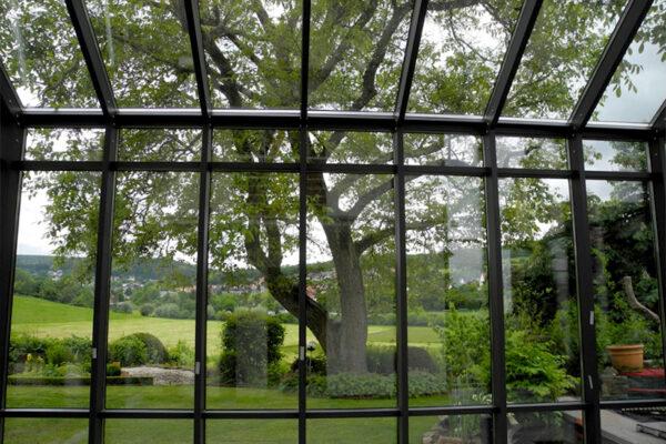 Ausblick ins Grüne - D & F Wintergarten in Detmold