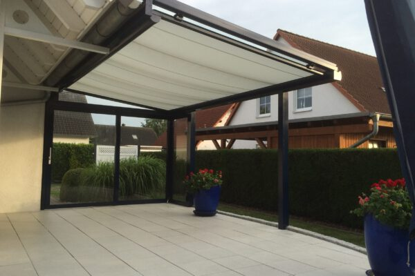 D & F optimierte Terrassenüberdachung