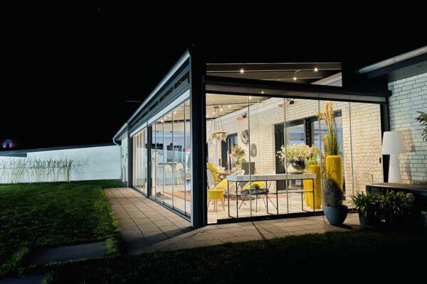 D & F luxuriöse Überdachung aus Aluminium