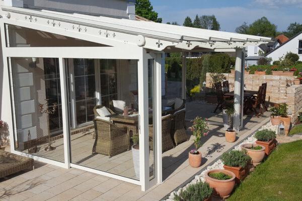 D & F luxuriöse VALUE Terrassenüberdachung