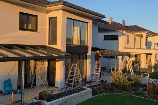 D & F Aluminium Terrassenüberdachung